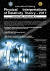 Physical Interpretations of Relativity Theory – 2019